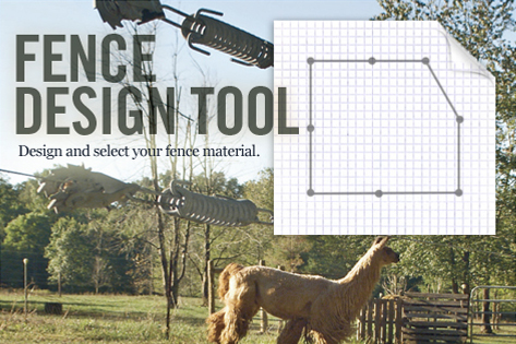 Fence Design Tool: Design and select your fence material